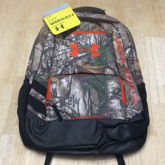 409f213c2a6 Under Armour Bags   Under Armor Camo Hustle Backpack Realtree   Poshmark